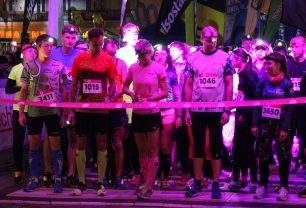 NIGHT RUN v Plzni se stal kořistí Richarda Jarošíka a Karly Colori