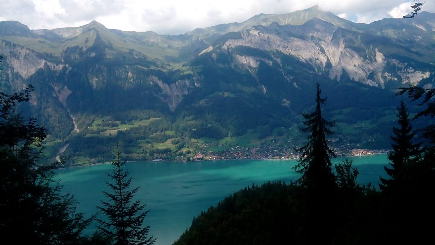 Výhled na Brienzersee